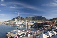 Портовый район V&A в Кейптауне стоковое изображение