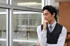 портреты бизнесмена Стоковая Фотография RF