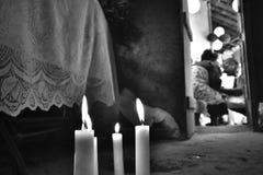 Портреты веры Umbanda, Бразилия Umbanda, Бразилия Стоковые Фото