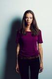 Портреты женщины состава стоковая фотография rf