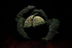 Портреты овощей - зеленого объекта искусства стоковая фотография rf