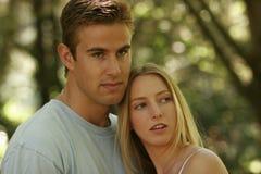 портреты пар молодые Стоковое фото RF