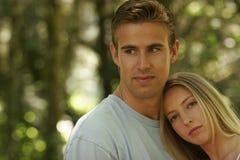 портреты пар молодые Стоковые Фото
