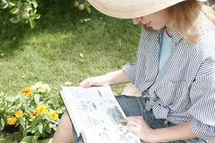 портреты сада Стоковые Изображения