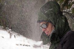 портрет альпиниста стоковое фото rf