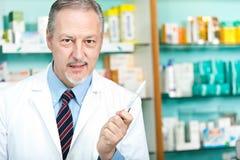 Портрет аптекаря Стоковое Изображение