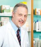 Портрет аптекаря Стоковое Фото