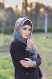 Портрет аравийской женщины Стоковое Фото