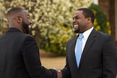 Портрет Афро-американских бизнесменов Стоковая Фотография RF