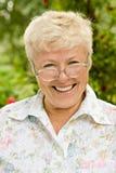 портрет бабушки счастливый Стоковое фото RF