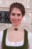 Портрет баварской девушки Стоковые Изображения