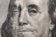 портрет Бенжамин Франклин Стоковая Фотография RF