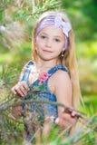 Портрет белокурой девушки Стоковое фото RF