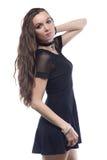 портрет белокурых волос девушки длинний Стоковые Изображения RF
