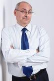 портрет бизнесмена возмужалый Стоковая Фотография