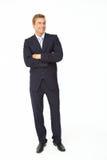 Портрет бизнесмена в костюме Стоковое Изображение RF