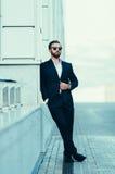 Портрет бизнесмена в костюме Стоковые Изображения RF