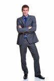 портрет бизнесмена красивый Стоковое Фото