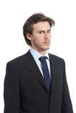 портрет бизнесмена серьезный Стоковое Изображение RF