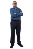 Портрет бизнесмена с бородой Стоковая Фотография RF
