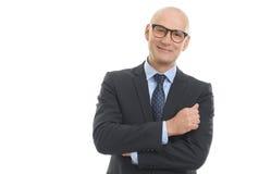 портрет бизнесмена уверенно Стоковые Изображения RF