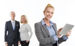 Портрет бизнес-леди Стоковые Изображения RF