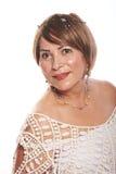 Портрет богатой женщины Стоковая Фотография RF