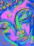 портрет Будды Стоковое Фото