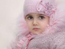 портрет близкой девушки вверх Стоковые Фото
