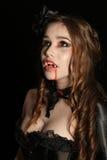 Портрет вампира Стоковые Фотографии RF