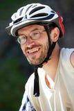 портрет велосипедиста Стоковое Изображение RF