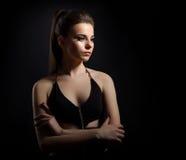 Портрет версии цвета молодой женщины Стоковое Изображение RF