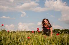 Портрет весеннего времени Стоковая Фотография RF