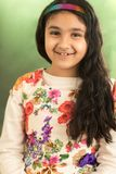 Портрет весны маленькой девочки Стоковые Изображения RF