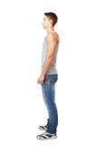 Портрет взгляда со стороны молодого человека Стоковое фото RF