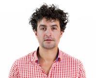 Портрет вскользь человека Стоковая Фотография RF