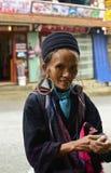 Портрет въетнамской женщины Стоковые Фотографии RF