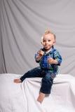 портрет выражения смешной Стоковая Фотография RF