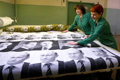 Портрет Владимира Путина Стоковая Фотография RF