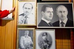 Портрет Владимира Путина Стоковое Изображение