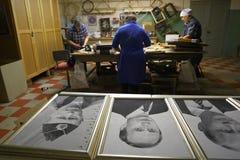 Портрет Владимира Путина Стоковое Изображение RF