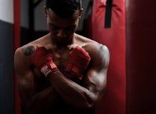 Портрет гимнастики стоковая фотография rf