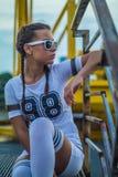 Портрет городской девушки Стоковая Фотография