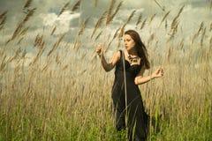 Портрет городской девушки Стоковое Изображение RF