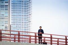 Портрет гордого и уверенно китайского работника офиса Стоковое фото RF
