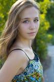 Портрет 16-год-старой девушки Стоковые Фото