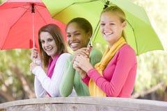 портрет группы девушок подростковый Стоковая Фотография