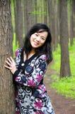 Портрет дамы Стоковое фото RF
