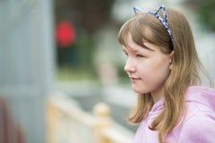 Портрет девочка-подростка Стоковая Фотография