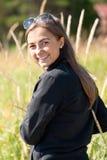 Портрет девушки в ушах солнечных очков Стоковые Фотографии RF